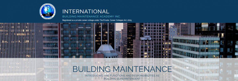 International Building Maintenance Academy